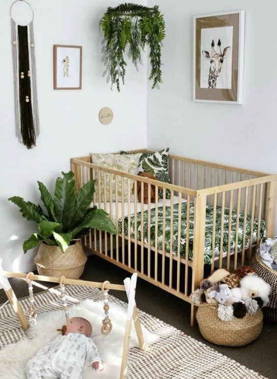 15 Ways To Decorate A Nursery Without Painting The Walls Baby Room Decor Baby Room Design Baby Nursery Decor