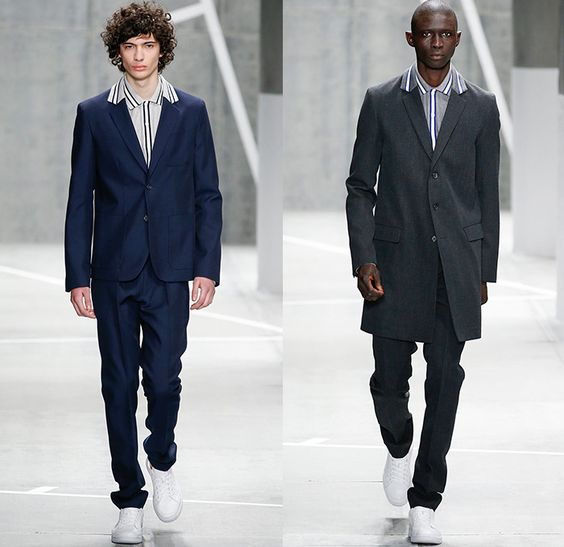 Lacoste 2015 2016 fall autumn winter mens runway catwalk for Mercedes benz tracksuit