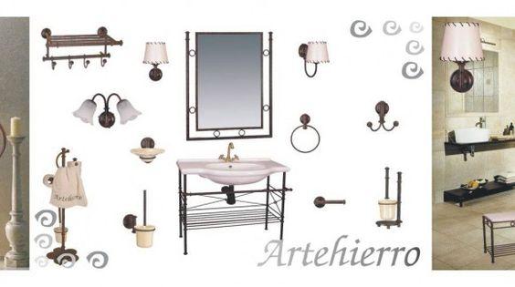 Fancy  besten Artehierro Badezimmer Rustikale Bilder auf Pinterest Badezimmer Dekoration und Entwurf