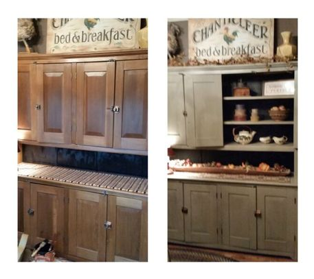 Give your furniture a fall makeover like shelley for Kitchen cabinets zanesville ohio
