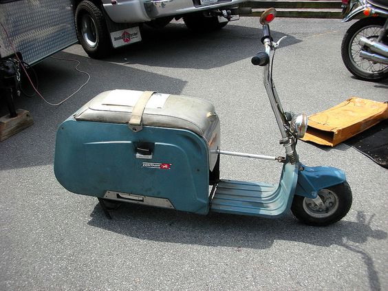 Centaur folding motor scooter by Bluejacket, via Flickr