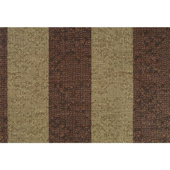 56 sq. ft. True Brown Stripe Mosaic Texture Wallpaper