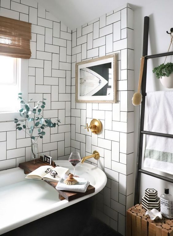 Inspiration Interior Home House Flat Living Cozy Bathroom Clean Minimalism Simple Bathroom Inspiration Bathroom Design Amazing Bathrooms