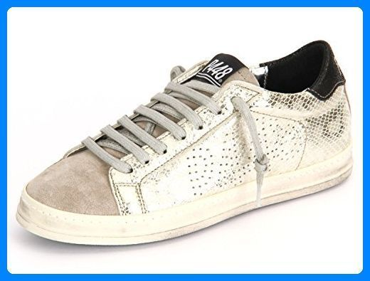 P448 E7 JOHN Sneaker für Damen Gold, Größe: 37 EU