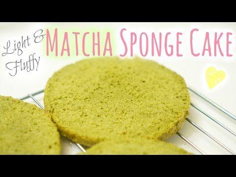 Matcha Sponge Cake⎜抹茶海綿蛋糕 - YouTube