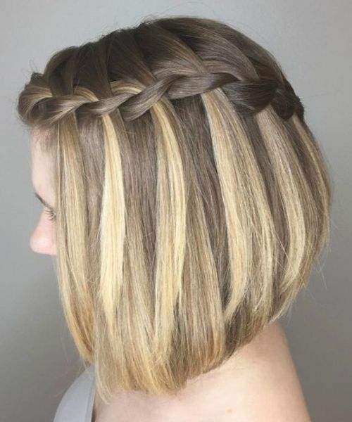 Most Gorgeous A Line Bob Hairstyles 2018 For Teenage Girls Styles Beat Braids For Short Hair Stylish Hair Teenage Girl Hairstyles