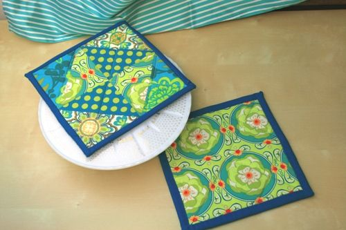 quilt block potholder tutorial