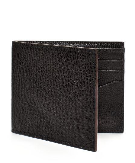 Jack Spade | Crosshatch Leather Bill Holder