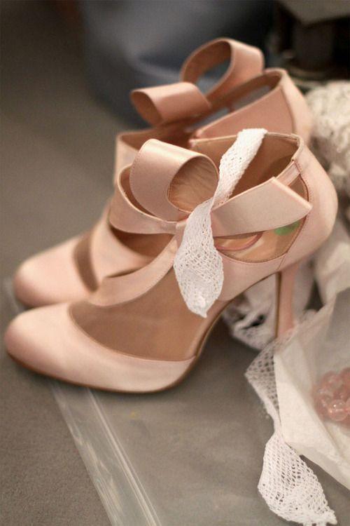 Pretty nude bridal heels | Beautiful, Ladies footwear and Ladies shoes