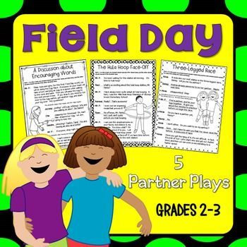 Field Day Partner Plays for grades 2-3! Field Day is such an exciting day for elementary students, but it's nice to have a related quiet-time activitiy to do on this special day that will also keep your kids engaged! Fluency- building reading activity!