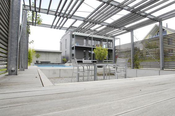 Gartenbau Ostschweiz: moderne Gärten der Fahrion und Partner Gartenbau AG Kreuzlingen