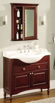 38 By 13 Sink Inch Single Sink Narrow Depth Furniture Bathroom Vanity With Choice Of Finish And