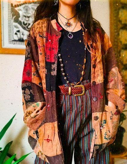 Boho Hippie Aesthetic Clothes