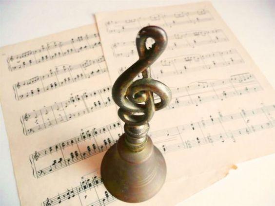 A musical bell.