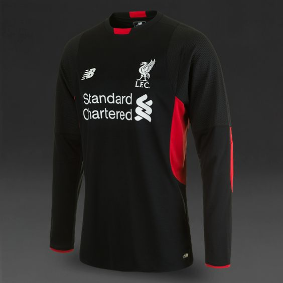 New Balance Liverpool FC Home GK LS Jersey - Black