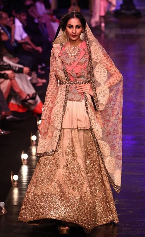 Pinterest • The world's catalog of ideas Sabyasachi Lakme Fashion Week Winter Festive 2013
