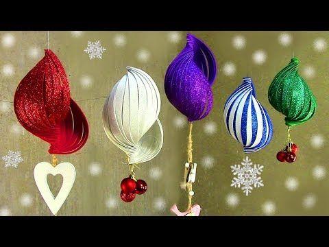 Diy Christmas Ornaments Glitter Foam Christmas Decorations Christmas Ornaments With Glit Diy Christmas Ornaments Diy Xmas Ornaments Foam Christmas Ornaments