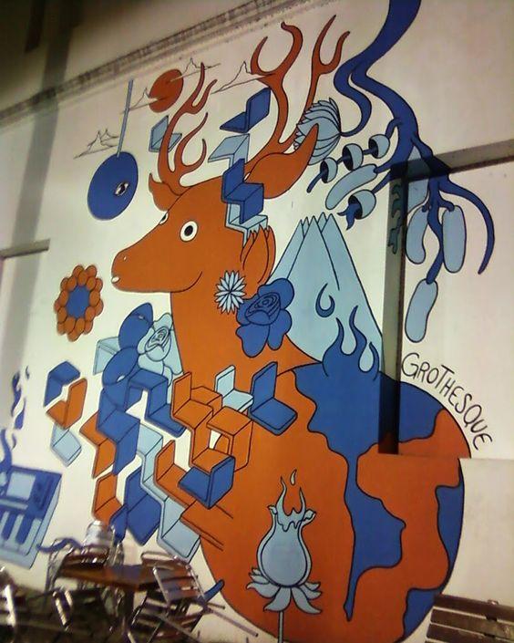 Mural Centro Cultural Recoleta