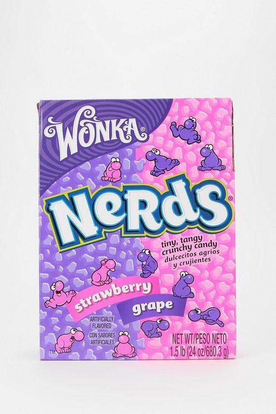 Nerd, Candy and Nerds candy on Pinterest Nerds Candy Grape Box