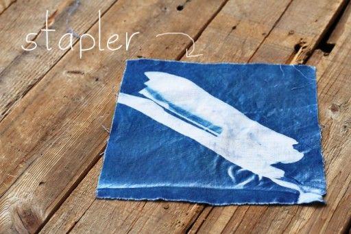 Cyanotype Blueprints - Fun with Sun Prints