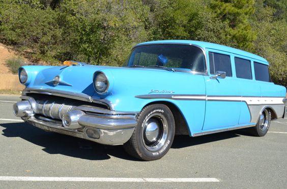 '57 Pontiac Starchief Safari Wagon