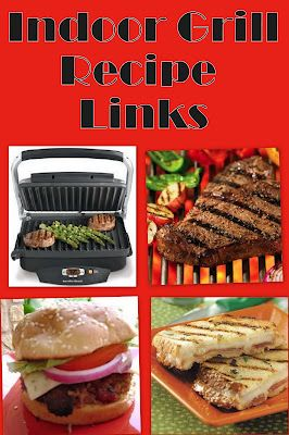 10 Indoor Grill Recipe Links