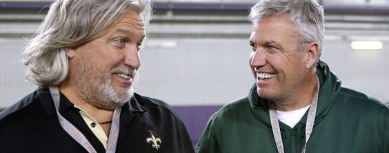 Rob Ryan, left, and Rex Ryan in 2014. Rex Ryan hires brother Rob to join him in Buffalo