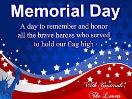 memorial day 2014 weekend dates