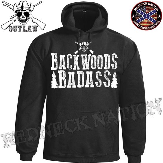 Outlaw Backwoods Badass Hoodie ODH-7