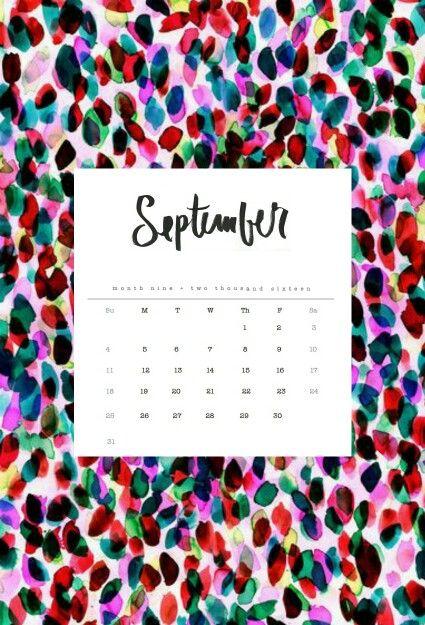 September 2016: