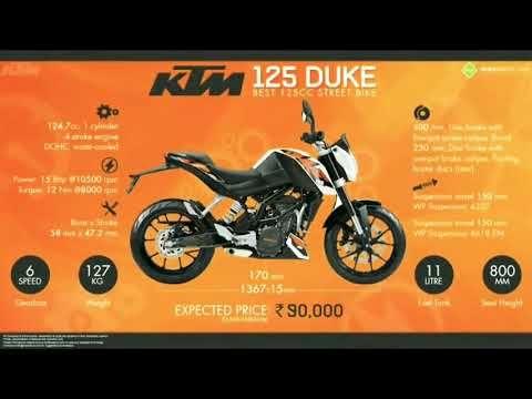 Ktm Duke Top Speed Of Bike Series And Bike Cc125to1290 480 Top