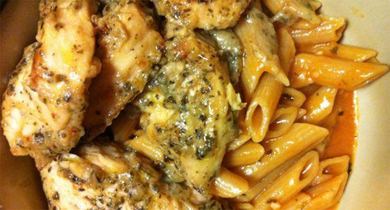 Garlic Pesto Chicken