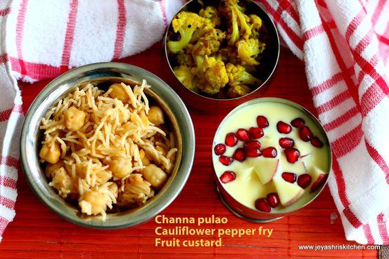 Lunch menu ideas | Jeyashri's Kitchen