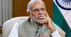 """David Letterman interviews India's Prime Minister Narendra Modi for documentary series """"Years of Living Dangerously"""" for National GeographicChannel 