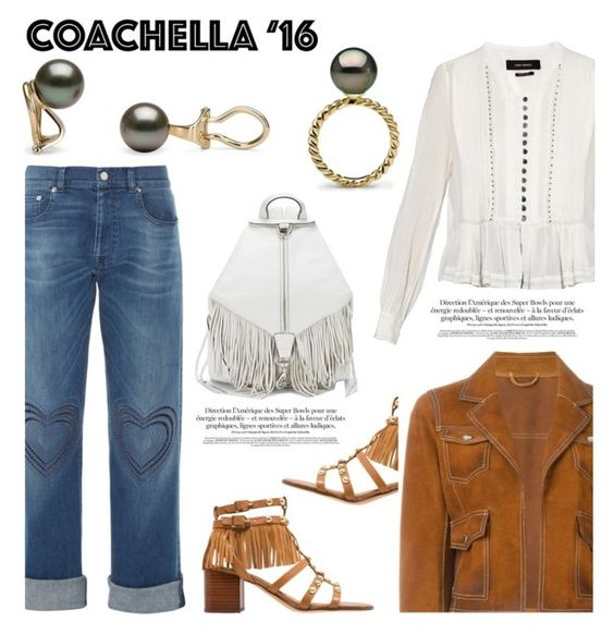 """Pack for Coachella!"" by pearlparadise ❤ liked on Polyvore featuring Christopher Kane, Sam Edelman, Dsquared2, Isabel Marant, Rebecca Minkoff, contestentry, pearljewelry, pearlparadise and packforcoachella"