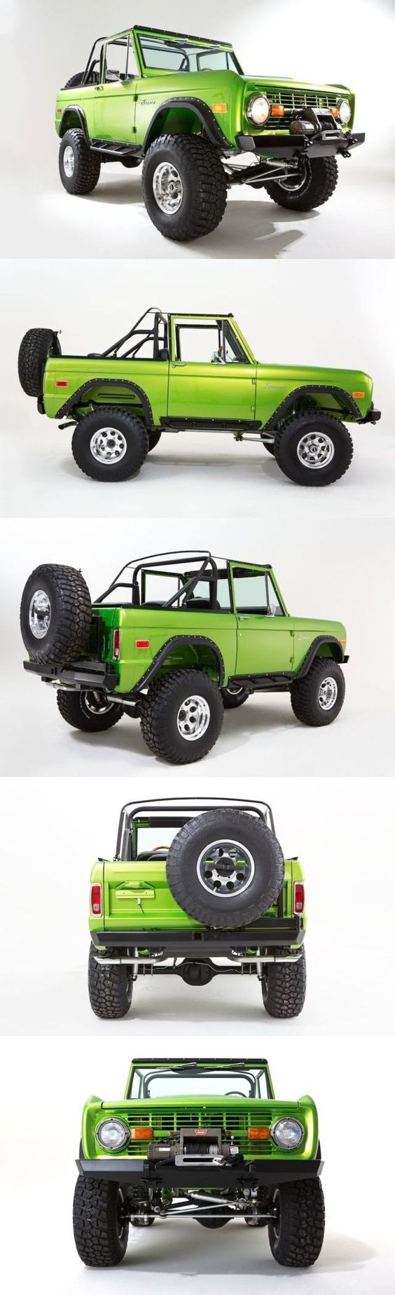 The ten greatest concept cars that were never produced ford bronco bronco concept and ford bronco concept