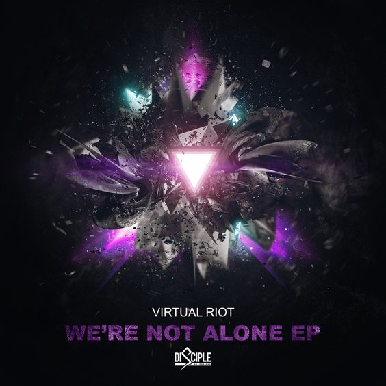 Virtual Riot – We're Not Alone (single cover art)