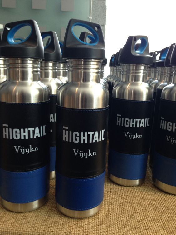 Hightail water bottles -- and more photos from Fortune Brainstorm TECH 2013