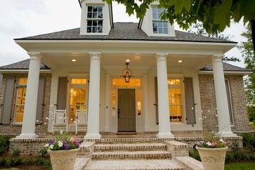 new home light brick exterior | bevolo gas and electric lights lighting