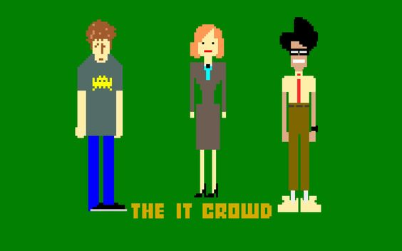 The It Crowd I Love This Show It Crowd Crowd Images Crowd