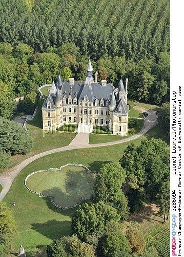 Château de Boursault, Champagne-Ardenne, Marne, France - © Lionel Lourdel / Photononstop