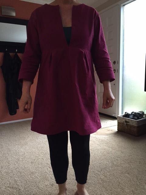 Schoolhouse tunic for Jolene