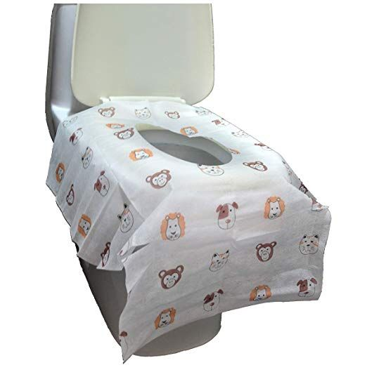 Disposable Toilet Seat Covers Extra Large Size Perfect For