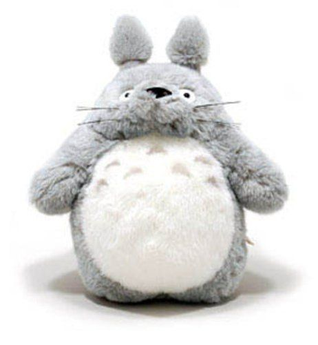 "Totoro Grey Totoro 16"" Plush Doll by Sun Arrow, http://www.amazon.com/gp/product/B0002YN3A8/ref=cm_sw_r_pi_alp_IxQhqb03XJG01"