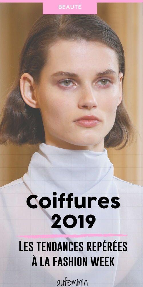 Les Plus Belles Coiffures De La Fashion Week Automne Hiver 2019 2020 Coiffure Cheveux Tendance Tendance Coiffure Automne Les Plus Belles Coiffures Coiffure