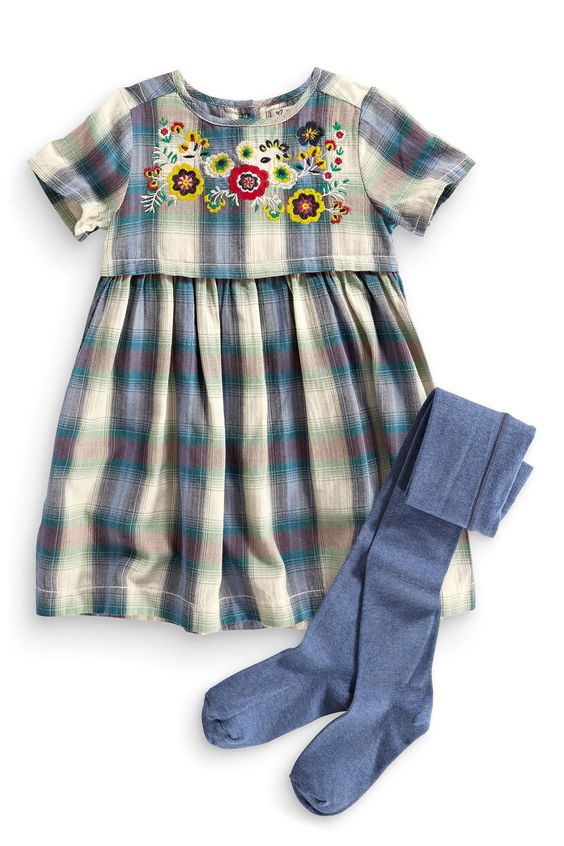 Buy Check Dress Set (3mths-6yrs) from the Next UK online shop