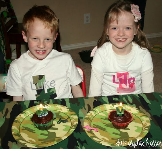 An Army Boot Camp Party - Dukes and Duchesses