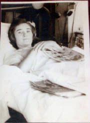 Doris King, WHS patient in the 1940's