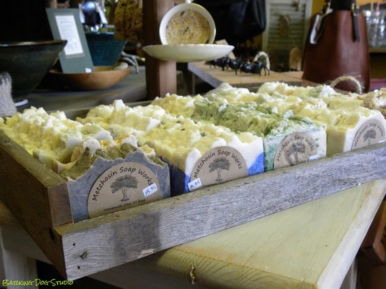 Olive Oil soap from Metchosin Soap Works