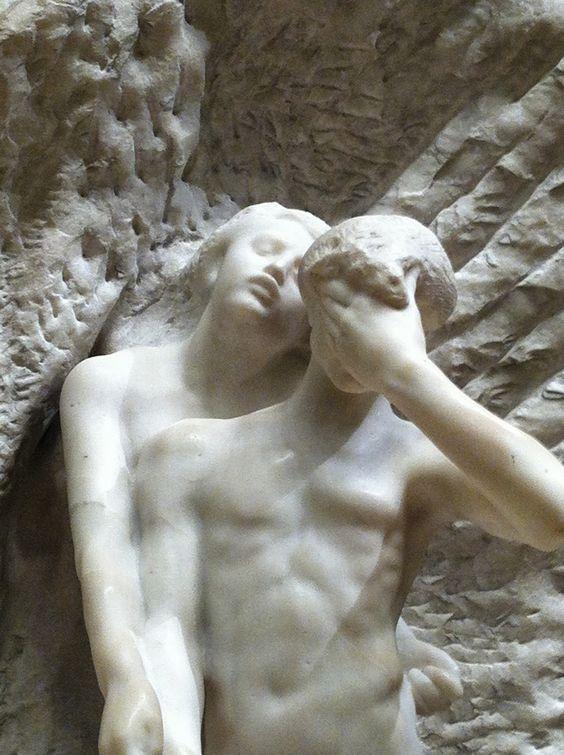 Auguste Rodin, Orphée et Eurydice, 1893